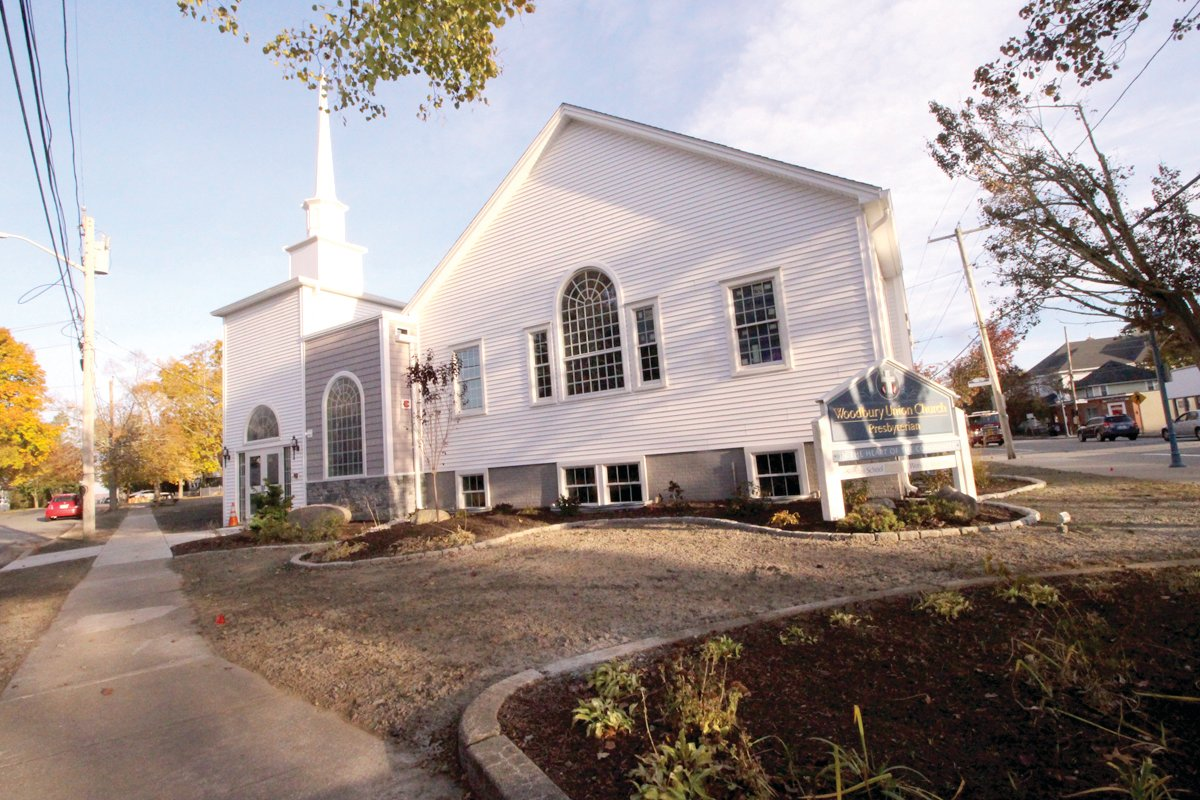 ALMOST READY: Two years after the fire, Woodbury Union Church in Conimicut Village is ready to reopen