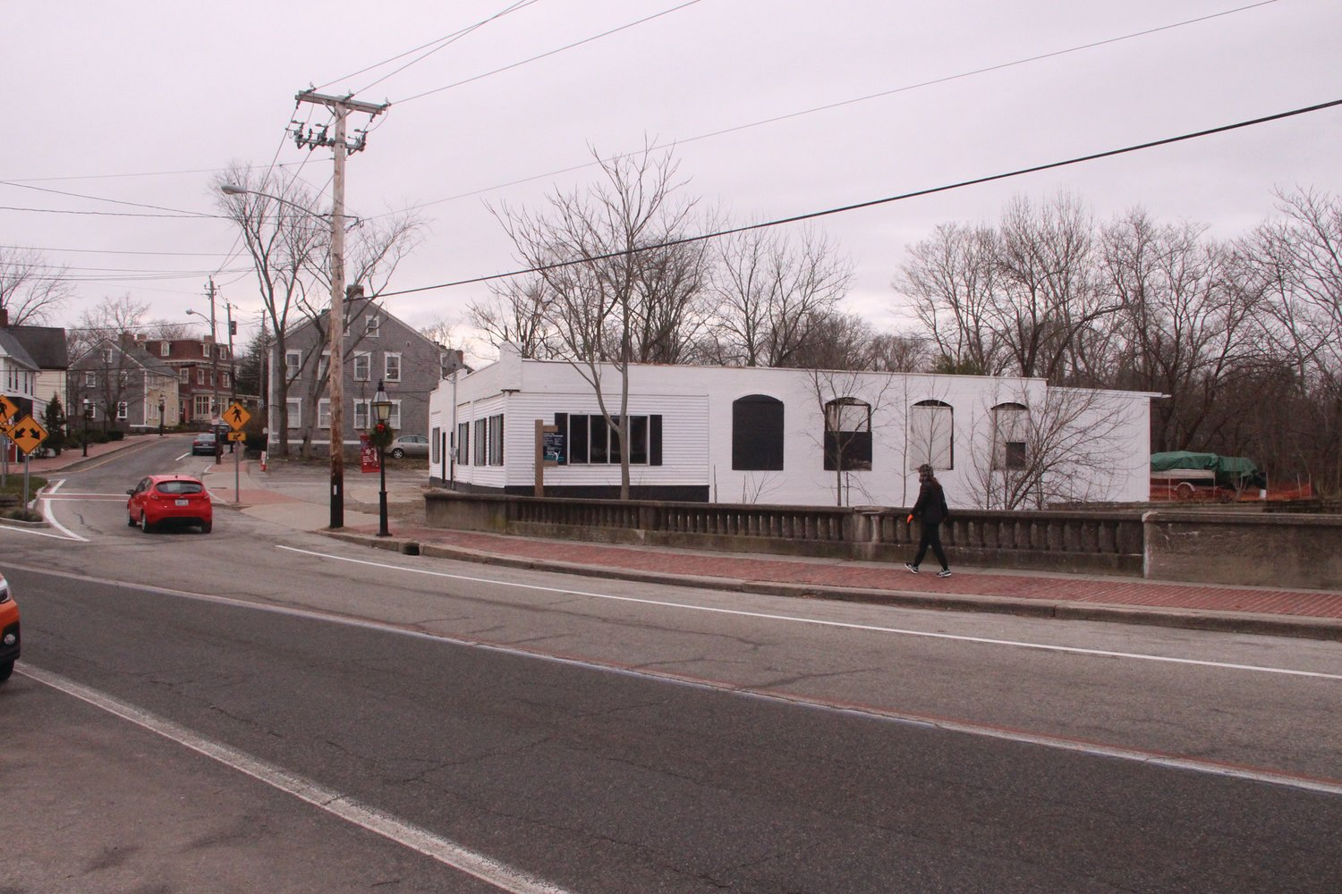 WHAT IT LOOKS LIKE TODAY: The former Hunter's Garage in Pawtuxet as it appears today.