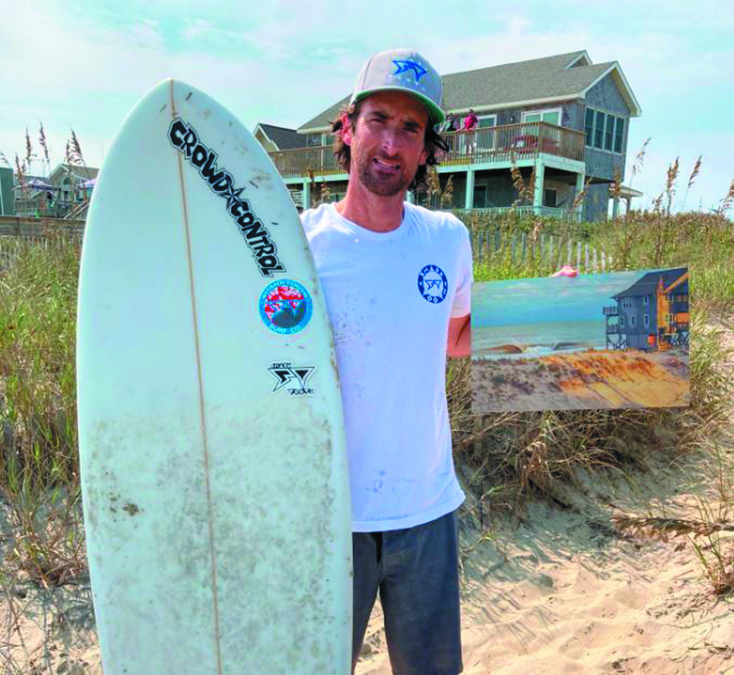 STRONG FINISH: Despite the ongoing COVID-19 pandemic, the surf was up this past year and local Christopher Herbert enjoyed his best season yet,reaching the finals in multiple events at the Eastern Surfing Association's Eastern Championships in North Carolina. Herbert was excited with his performance and has his sights set on 2021.