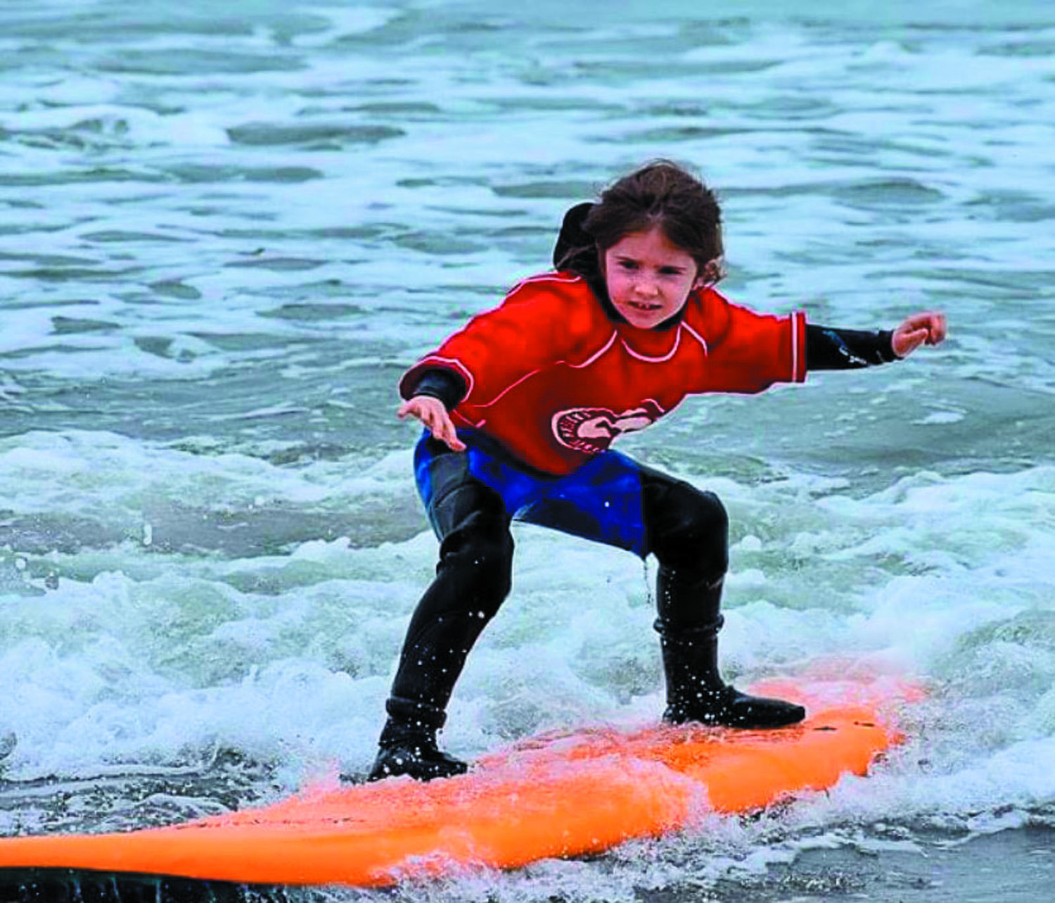 CATCHING A WAVE: