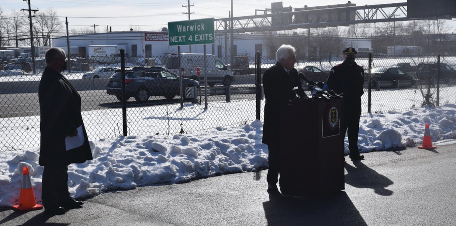 LOOKING FOR IMPROVEMENT: Rhode Island Department of Transportation Director Peter Alviti said the state has already seen seven fatalities this year, in contrast to four at this point in 2020.