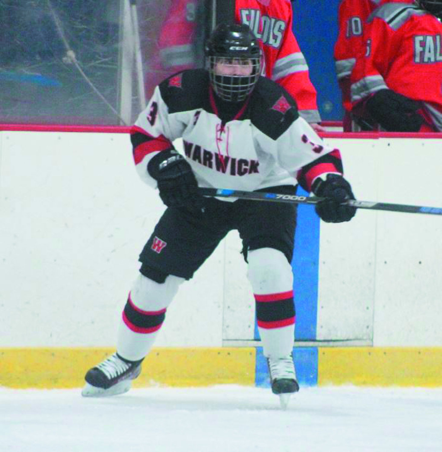 STAYING HOT: Warwick's Charlie Clements last week against Cranston.