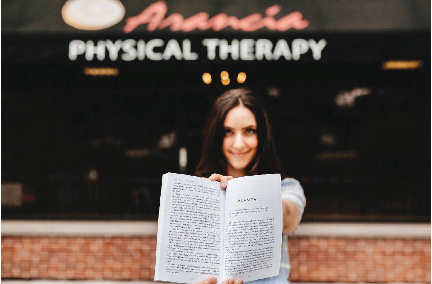 Meet Dr. Jessica Papa of Arancia Physical Therapy in Cranston, seen here showcasing her book Conquering Mystery Pain.  Her practice specializes in the alleviation of chronic pain, and so much more. Visit Dr. Jess at www.aranciapt.com to find out more.